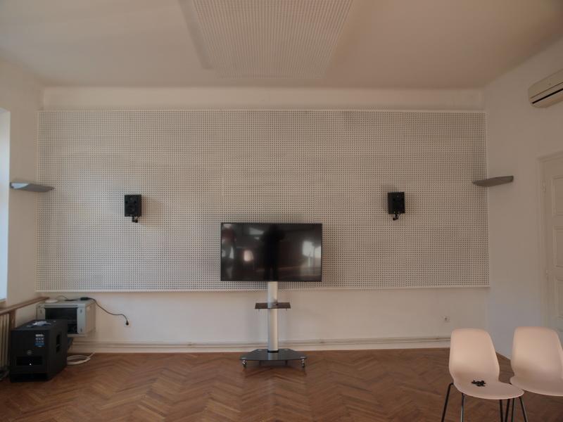 Akusticka obrada - primjer-obrade zida i montaza opreme