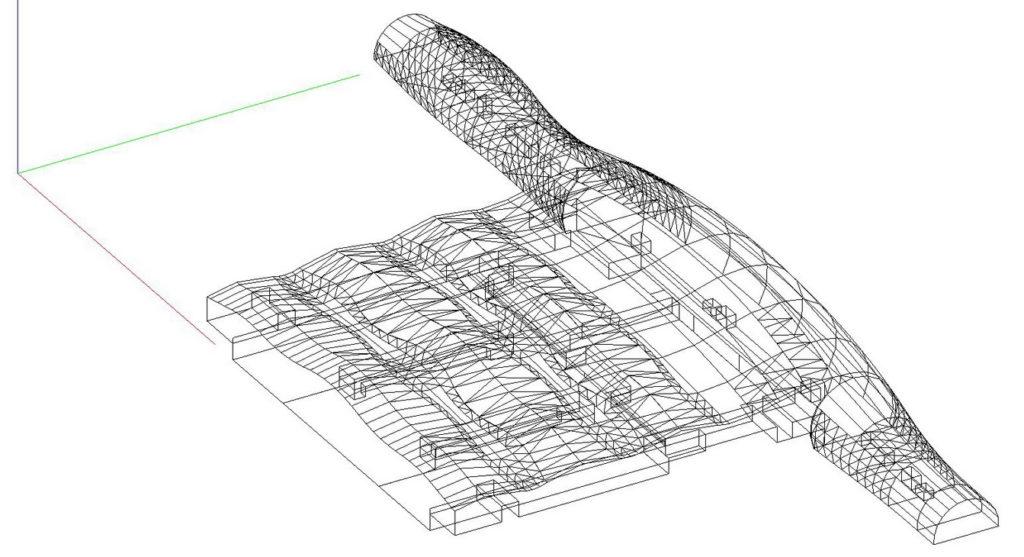 Akustika - racunalni model za simulaciju - 3D model - slozeni prostor