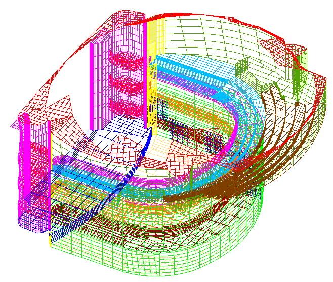 Računalni model za simulaciju - 3D prikaz