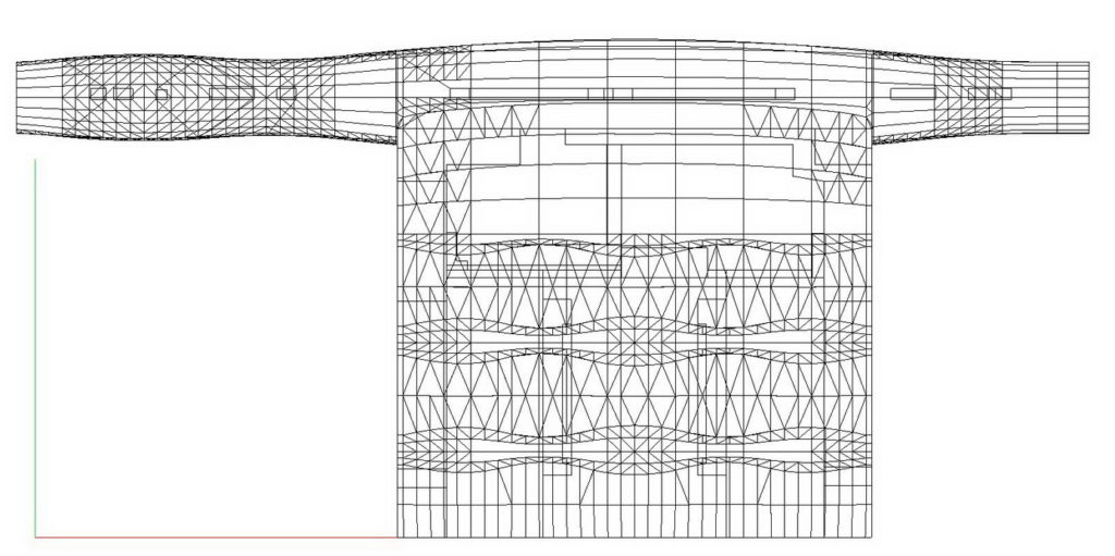 Racunalni model za simulaciju - tlocrt prostora
