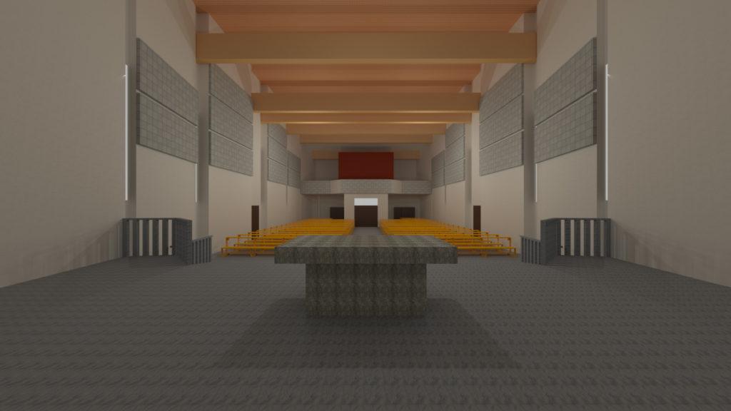 Akustika - render model 01
